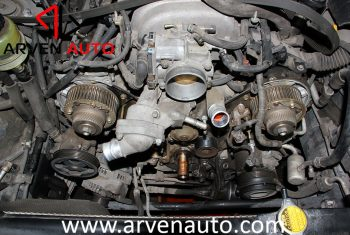 Восстановление автомобиля Audi A6 после пожара в моторном отсеке | Arven Auto