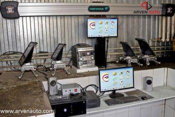 Установка нового 3D-стенда регулировки развал-схождения   Arven Auto