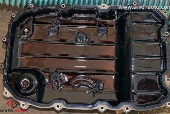 Страшные подробности замены масла АКПП в VW Touareg 4.2