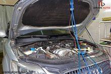 Подключение дымогенератора к автомобилю.