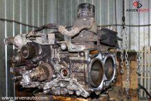 Ремонт Subaru EJ20. Разборка ДВС, осталось разделить половинки блока и вытащить коленвал.