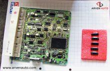 Ремонт электронного блока управления – стоимость работы, вместе с деталями, составила 250 у.е., стоимость нового блока – 2000 у.е. Выгода очевидна.
