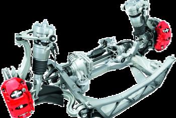 Ремонт пневмоподвески Porsche (Порше)