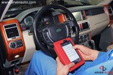 Считывание кодов ошибок мобильным сканером.