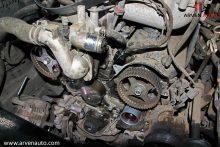 Так выглядит замена ремня ГРМ на двигателе V6 установленном в Mitsubishi Pajero.